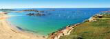 Fototapeta See - Plage et rochers sur la côte de granit rose