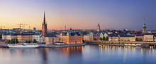 Stockholm.Panoramic Image Of S...