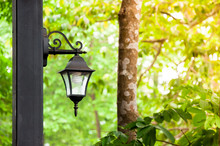 Antique Lamps Are A Natural Background