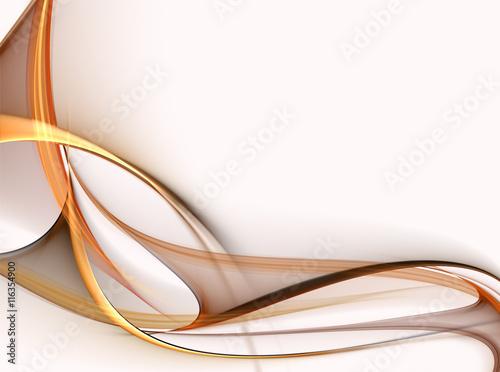 Naklejka premium Elegancki abstrakcyjny