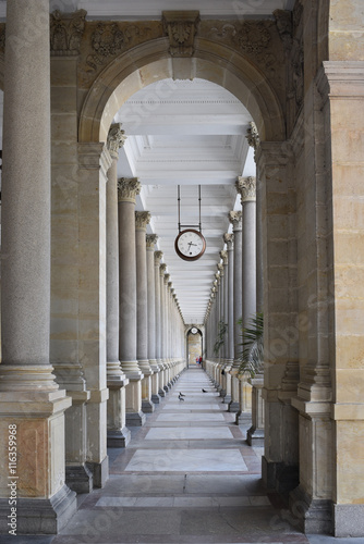 Karlovy Vary, Czech republic, colonnade