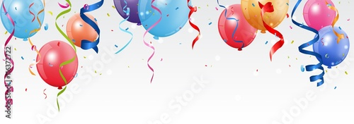 Fotografía  Birthday and celebration banner