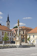 Main square in Ljutomer Slovenia