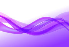 Wave Abstract Backgrounds Violet