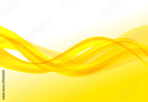 Wave Abstract Backgrounds yellow