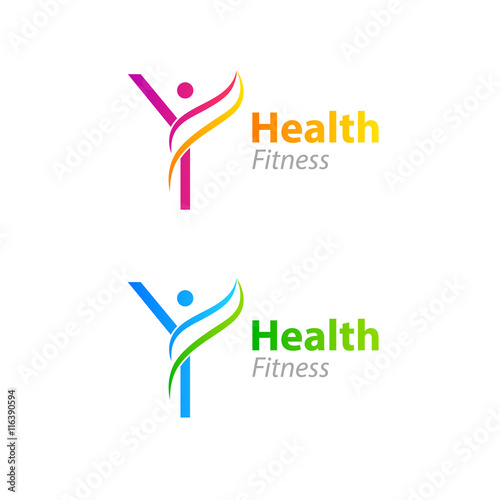 Abstract letter y logo design template with health fitness logo abstract letter y logo design template with health fitness logo maxwellsz