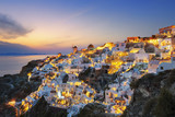 View of Oia at sunset - 116399716