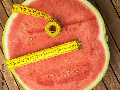 Fotografie, Obraz  Sandia fruta y dieta