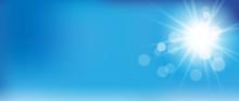 Blauer Hintergrund Himmel Und ...
