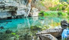 Pratinha Grotto In Chapada Dia...