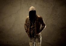 Undercover Hooded Stranger In The Dark