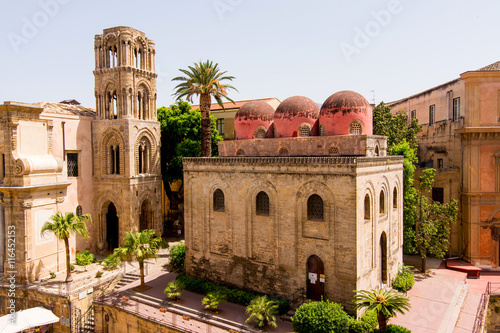 Tuinposter Palermo San Cataldo church in Palermo, Sicily. Italy.