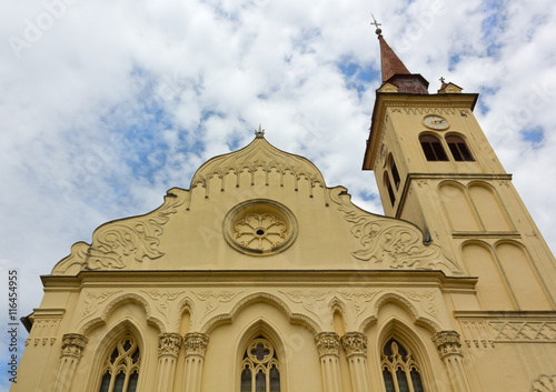 Photo  Saint Leonard Church in Novo Mesto, Slovenia