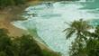 Video UHD - Thailand beach. Not touristic season, cloudy, few people.