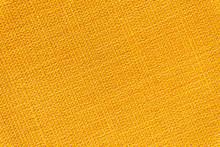 Orange Fabric Texture Background