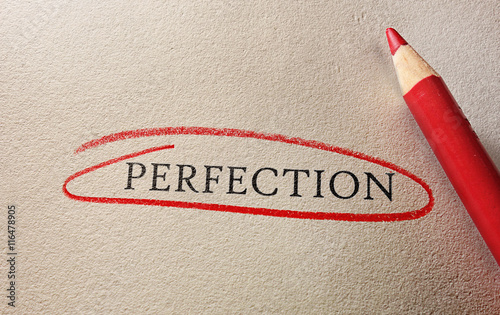 Fotografie, Obraz  Perfection circled in red