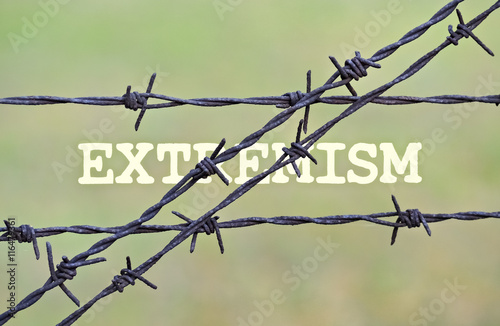 Fotografia, Obraz  Single word Extremism