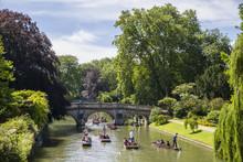 Clare Bridge In Cambridge
