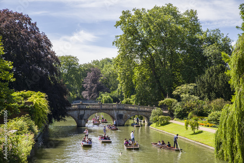 Foto Clare Bridge in Cambridge