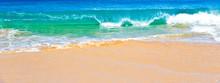 Ocean Surf In Maui Hawaii