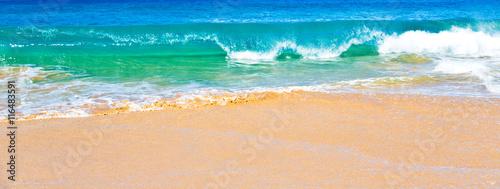 Foto auf Gartenposter Wasser Ocean Surf in Maui Hawaii