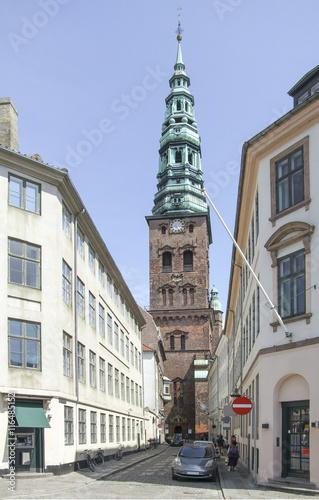 Photo  city view of Copenhagen