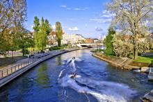 Brda River In Bydgoszcz City - Poland