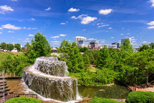 Fototapeta Columbia, South Carolina Fountain obraz