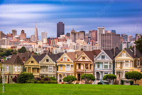 San Francisco, California Skyline Canvas Print