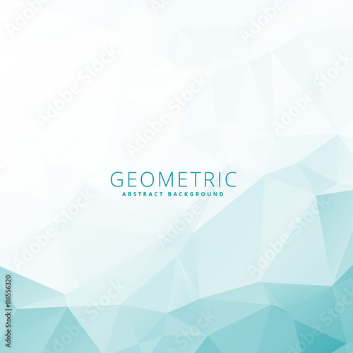 Valokuva  low poly geometric template