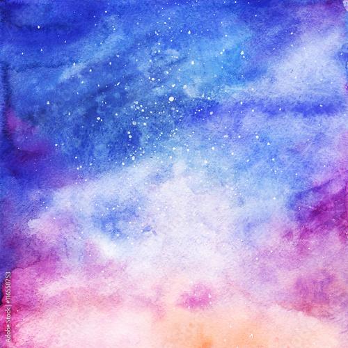 akwarela-kolorowy-gwiazdzisty-astronautyczny-galaxy-mglawicy-tlo