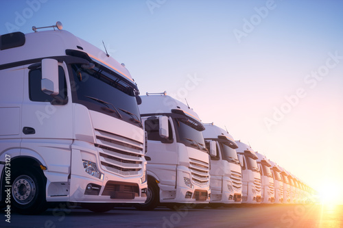 Transport Fleet 02 Canvas Print