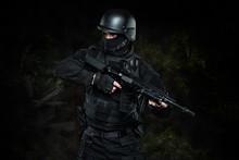 Spec Ops Police Officer SWAT I...