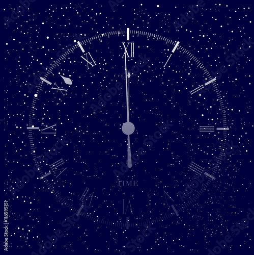 Time Is Almost Midnight Canvas-taulu