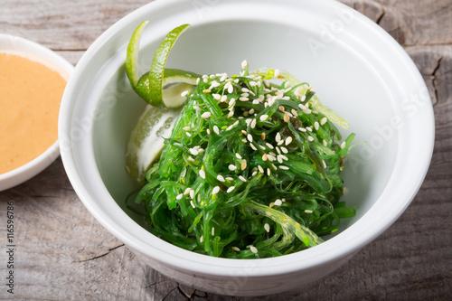 Green chuka seaweed salad