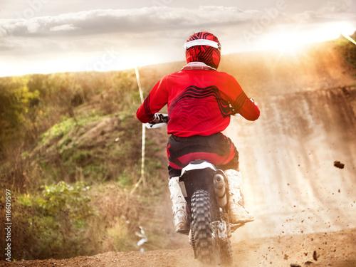 obraz PCV motocross mx sport