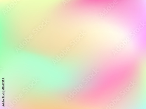 Abstract Horizontal Blur Grant Background With Trend Pastel Pink Pale Green Yellow Cyan And Blue Colors For Deign Concepts Wallpapers Web