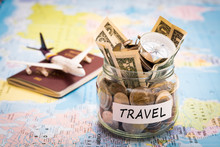 Travel Budget Concept With Com...