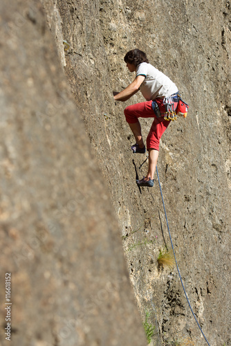 Papiers peints Alpinisme Climbing in Spain