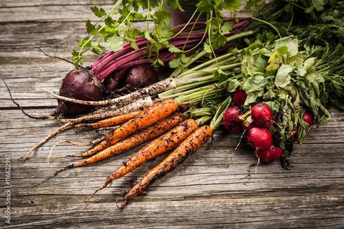 Foto op Plexiglas Groenten Fresh organic vegetables