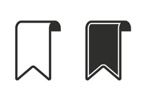 Bookmark - Vector Icon.