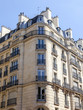 PARIS, FRANCE, on JULY 5, 2016. Typical architectural details of facades of historical building.