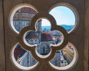 FototapetaFlorence Cathedral from Giotto's Campanile