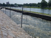 Wild Water Training Channel In Prague