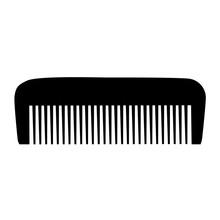Comb , Barber Comb, Black Plas...