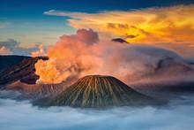 Mt.Bromo In Tengger Semeru National Park, East Java, Indonesia