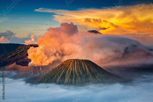 Mt.Bromo in Tengger Semeru National Park, East Java, Indonesia