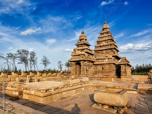 Fotografia, Obraz  Shore temple - World heritage site in Mahabalipuram, Tamil Nad