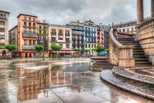Houses On Plaza Del Castillo I...