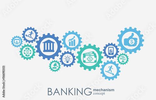 Fotografía  Banking mechanism